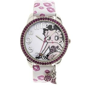 🆕 Betty Boop Wrist Watch with charms